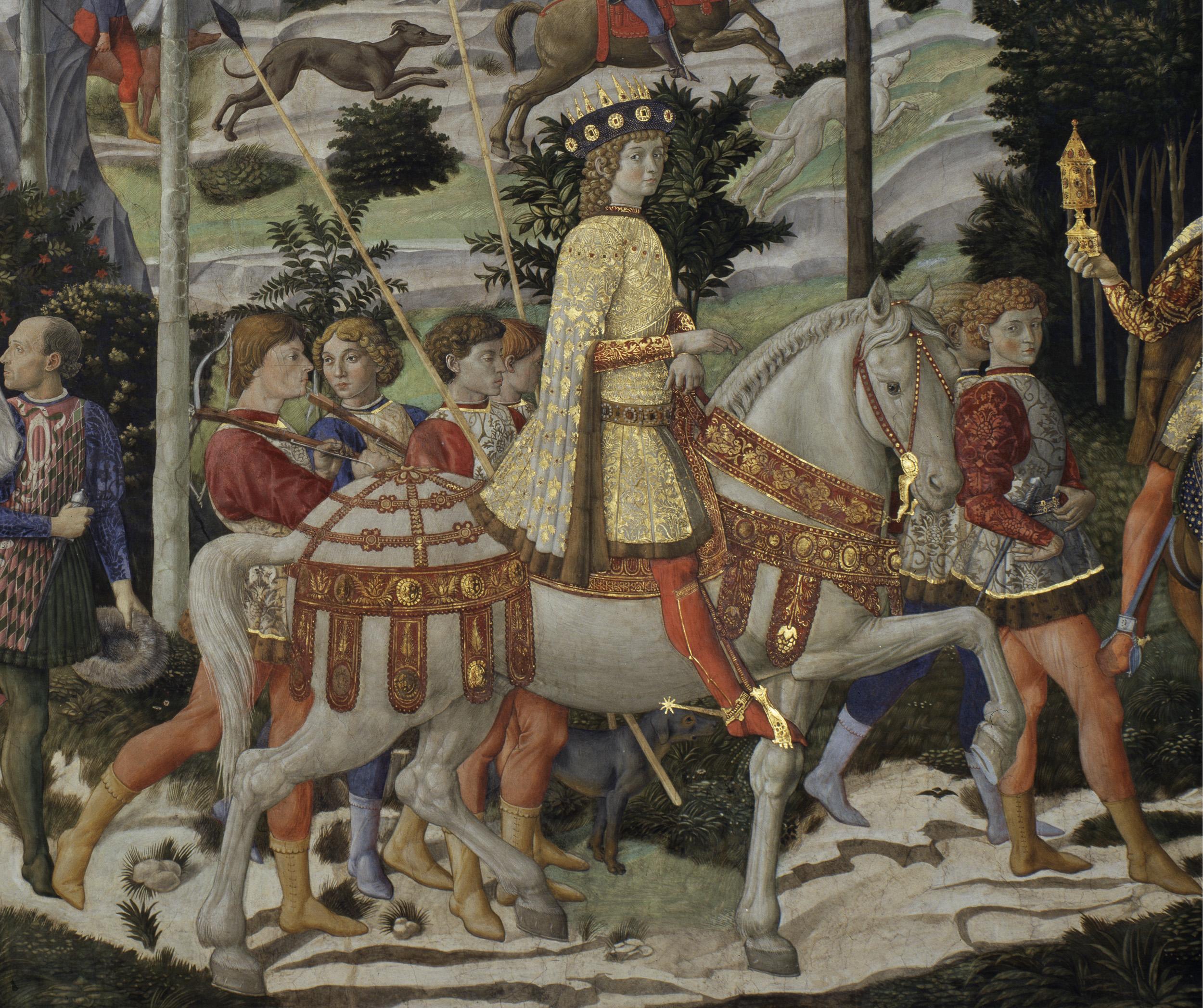cortege des mages palais Medicis Riccardi
